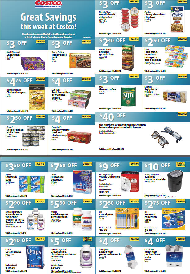 Costco august 2019 coupons