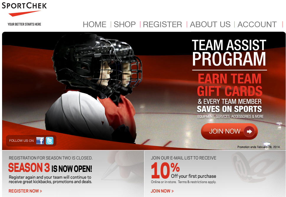 Sport chek discount coupons