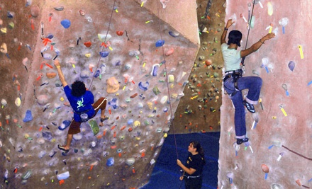 Vertically Inclined Rock Gym Edmonton